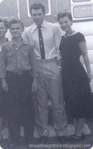 unknown, Gary, Dean, Grandma Helen Jewett
