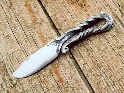 Couteaux de table brut de forge