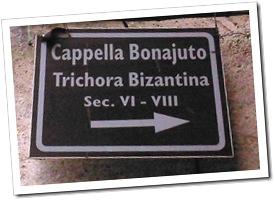 cappella bonajuto targa