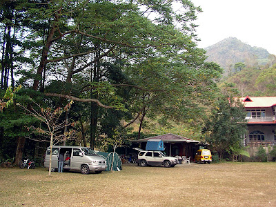 高雄那瑪夏拉比尼亞露營山莊 @98 年春節移動露營 (4-4)