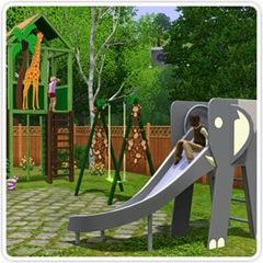 playground Animais aos Montes - Diversão ao ar livre