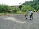 Wanderung auf den Großen Gleichberg - Im Steinbruch