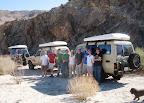 Group Shot in Anza Borrego RockHouse Canyon