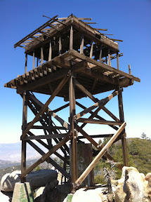 Fire-Watch tower on Hot Springs Mountain