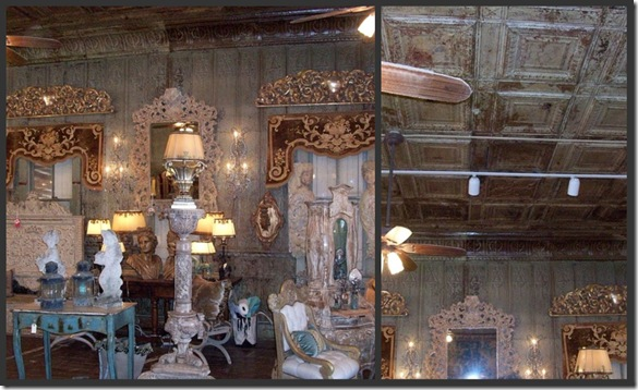 Barn Interior collage