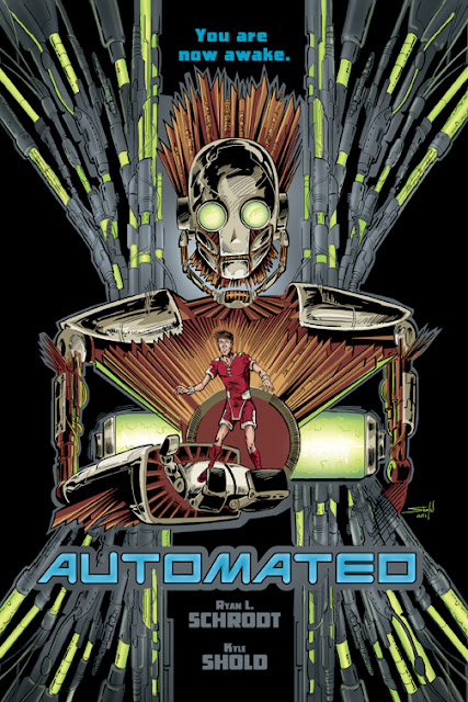 Splash page / advertisement for 'Automated'