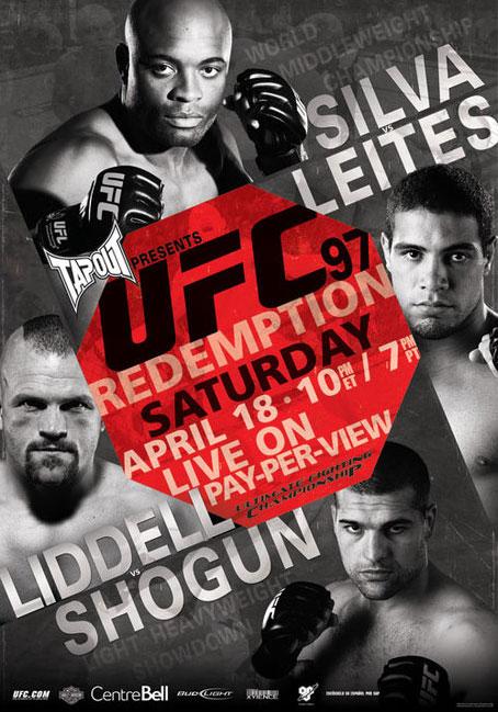 UFC 97: Андерсон Силва  VS Талес Лейтес