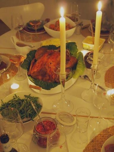 Thanksgivingsbordet