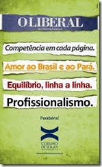 Anúncio Coelho de Souza - Homenagem O Liberal
