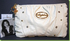 AUTHENTIC BABY PHAT MULTIUSE HANDBAG PURSE BONE NWT