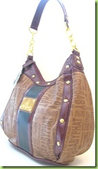 NEW! BABY PHAT HOBO HANDBAG PURSE, BROWN, NWT1