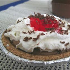 Raspberry French Silk Pie