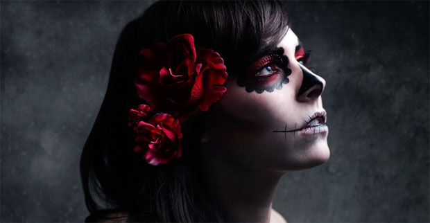 Fashion Photography of a Female Model with Exceptional Make ups and Tattoos 