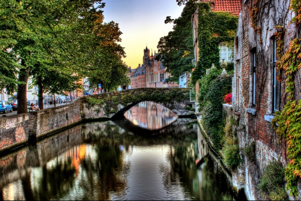HDR Architecture photography-Brugge