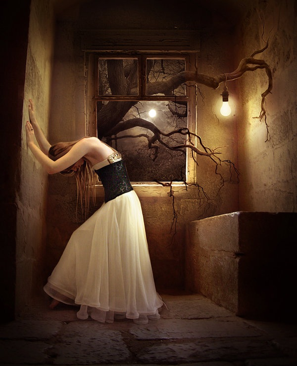 Fantasy Girl Surreal-photography-image-manipulation