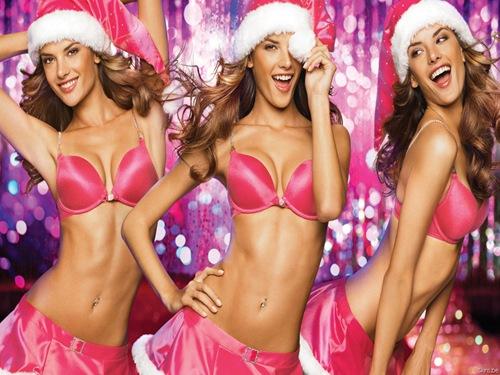 Sexy-girl-Christmas-desktop-wallpapers