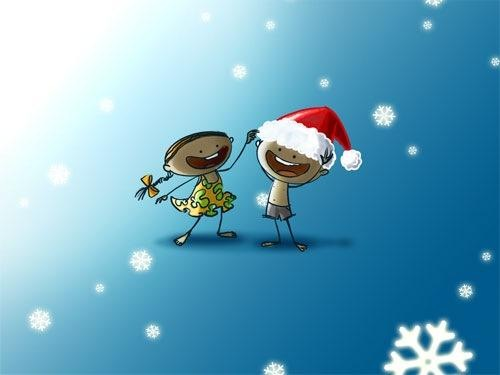 20-Illustrated-Christmas-desktop-wallpapers