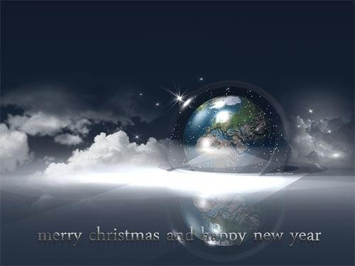 Fantasy HD Christmas Wallpaper