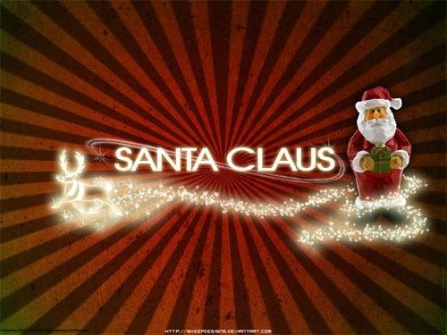 Santa Claus Christmas Wallpaper