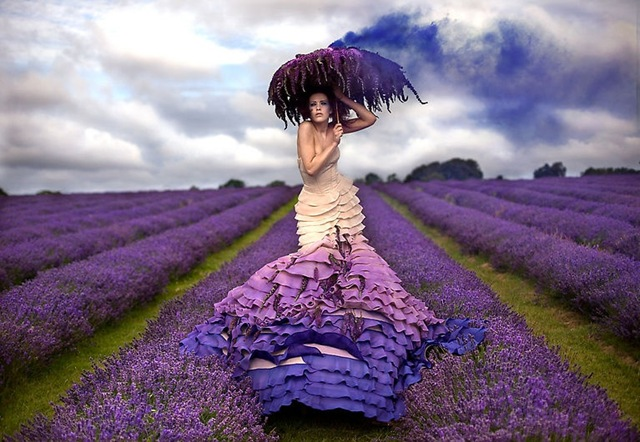 Strange and Weird Fashion Photography by Kirsty Mitchell