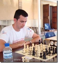 David Vallés, campeón provincial individual de ajedrez relámpago 2010.