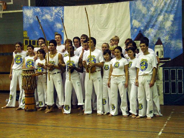 Мастер Марсело и киевская группа Экспрессао Паулиста (октябрь 2004)