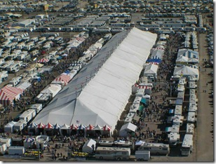 RV show tent