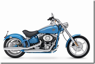 2011 FXCWC Softail Rocker C, INTERNATIONAL ONLY, right broadside