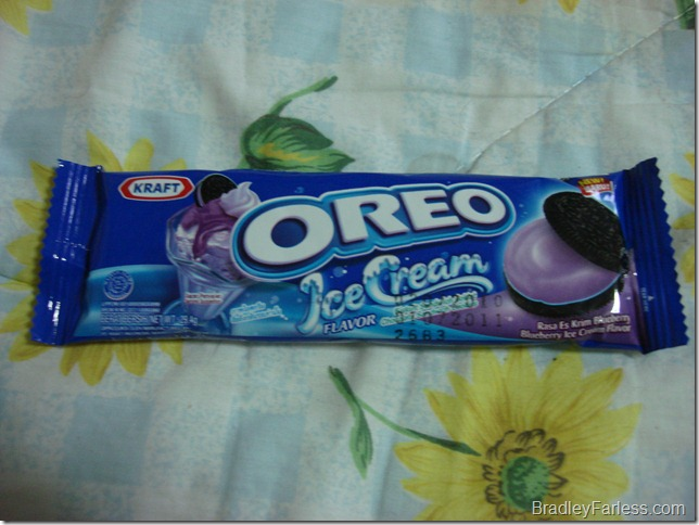 Blueberry Ice Cream Oreo Packaging