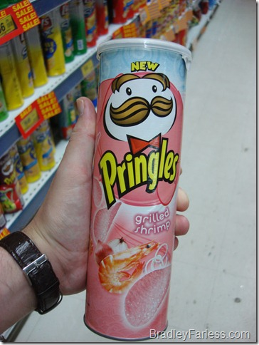 Grilled Shrimp Pringles