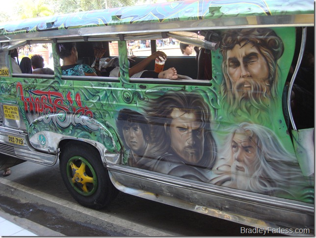 The Westside Jeepney, Lord of the Rings design.