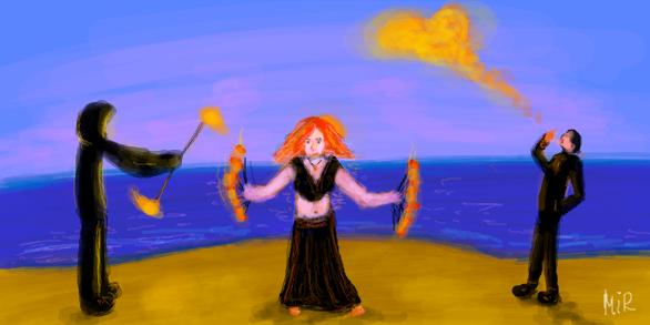 """Граффити в контакте - """"Отжиг"""" на море"""