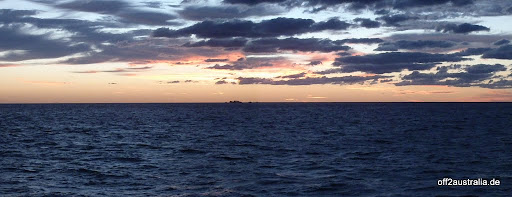 Sonnenaufgang über dem Great Barrier Reef
