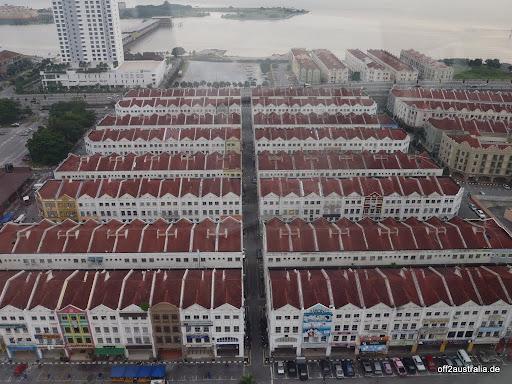 Melaka - in Reihe und Glied
