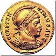 Constantinus egy római pénzérmén_Ki legyen a birodalom támasza