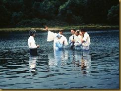 Keresztség a folyóban