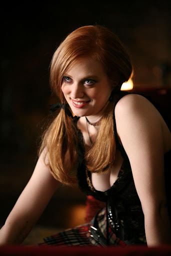 The gorgeous Deborah Ann Woll is Jessica Hamby