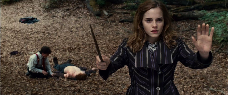 EMMA WATSON as Hermione Granger in Warner Bros. Pictures™ fantasy adventure HARRY POTTER AND THE DEATHLY HALLOWS