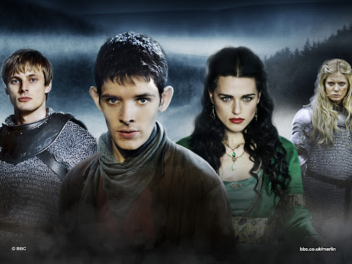Arthur, Merlin, Morgana, Margause