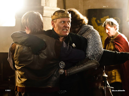 Anthony Head is Uther Pendragon