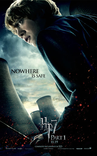 Ron Weasley - Nowhere is Safe - Harry Potter and the Deathly Hallows