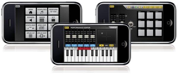AKAI SynthStation Studio iPhone app