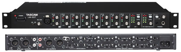 Tascam LM-8ST rack mixer