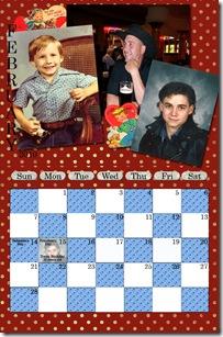 Hall Calendar - February web