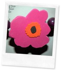 blomst av mosegummi