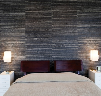 wallteriors wall paper grey black rock texture decor design