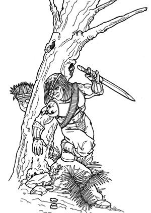 Don Zaloog, Fan Art de Yu-Gi-Oh! GX por Eduard Roca