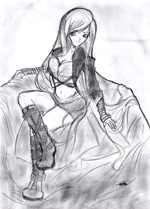 Dibujo de Laura S.Q.
