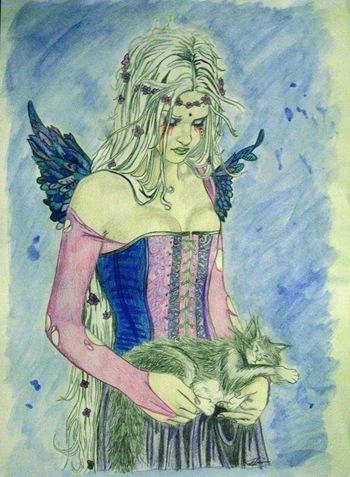Dibujo de Erica Torres
