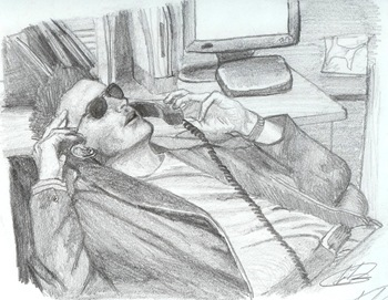 Retrato de Anthony Dinozzo por Erica Torres